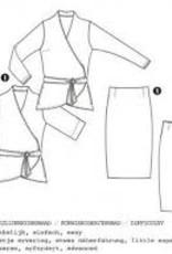 It's A fits Blouse, jas, rok 1092 - It's A fits