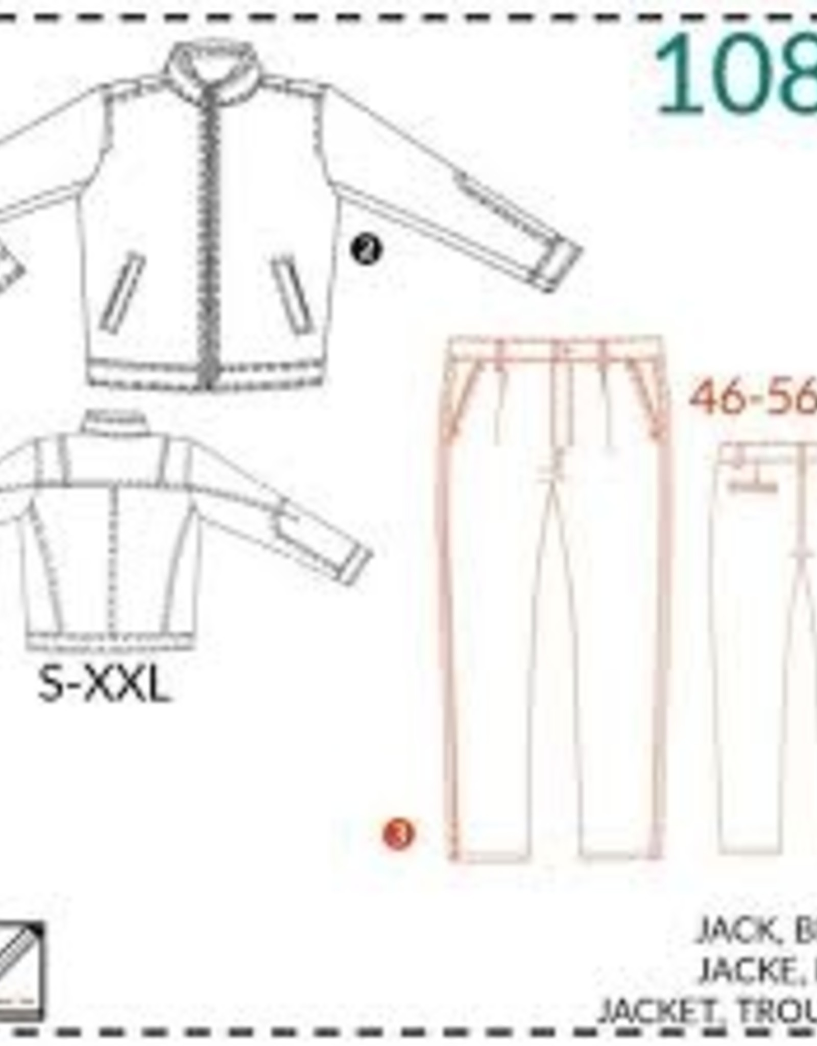 It's A fits Jack, broek 1081 - It's A fits