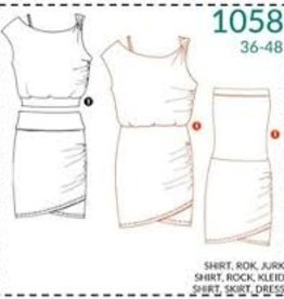 It's A fits shirt, rok, jurk 1058 - It's A fits