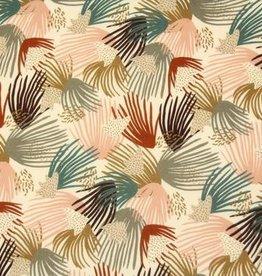 Atelier Jupe Viscose met kleurrijke lijntjes - Atelier Jupe