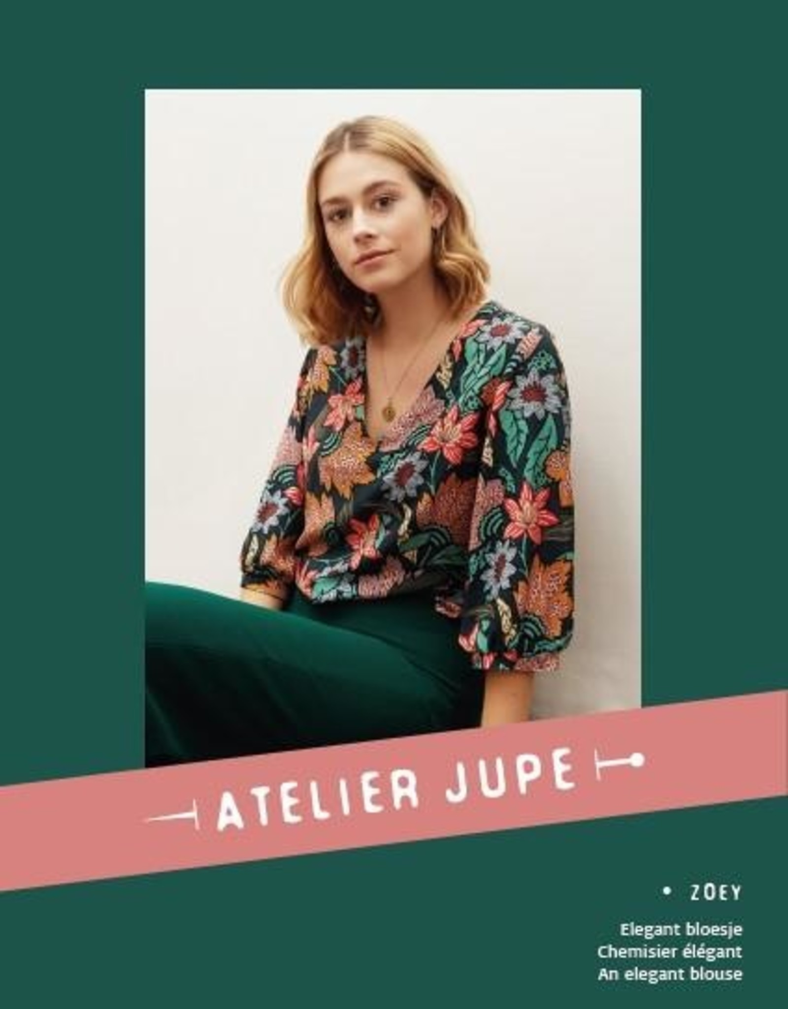 Zoey blouse - Atelier Jupe