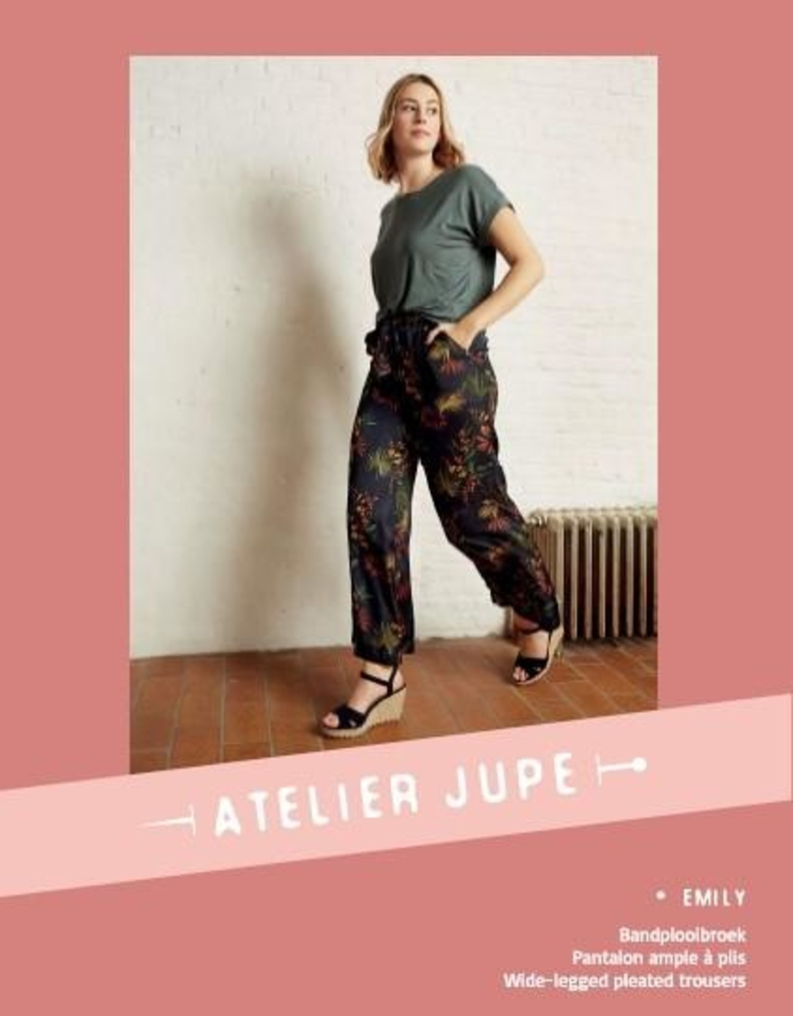 Emily broek - Atelier Jupe