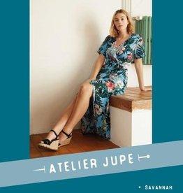 Atelier Jupe Savannah overslagjurk - Atelier Jupe