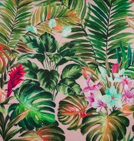 Qjutie Flowers green digital jersey