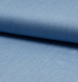 Tencel chambray lichtblauw