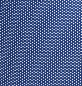 Nooteboom Dots white kobalt