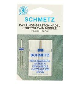 schmetz schmetz stretch tweelingnaald 4.0 nr 75