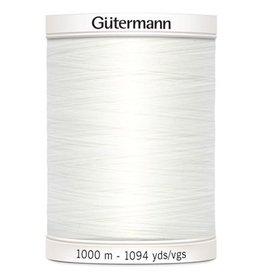 Gütermann Allesnaaigaren Gütermann 1000m wit col800