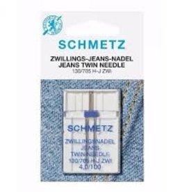 schmetz schmetz jeans tweelingnaald 4.0 nr 100