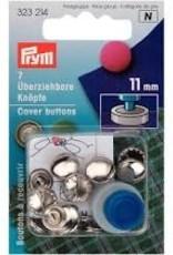 Prym prym  - overtrekbare knopen met matrijs 11mm - 323 214