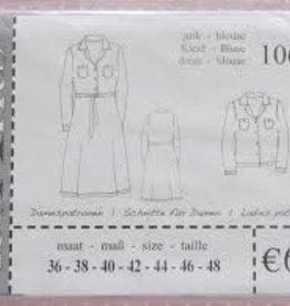 It's A fits Jurk, blouse 1065 - It's A fits