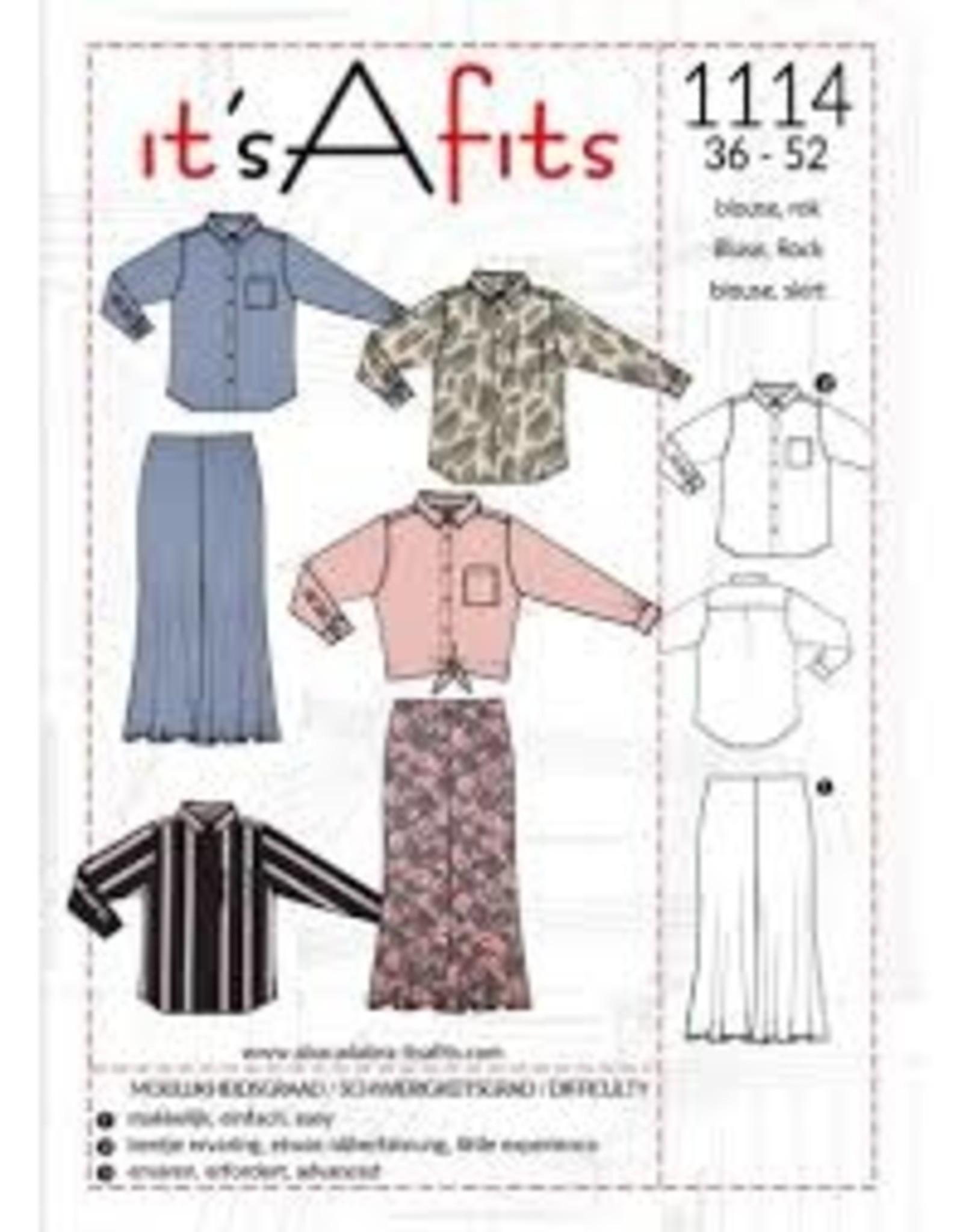 It's A fits blouse, rok 1114 - It's A fits