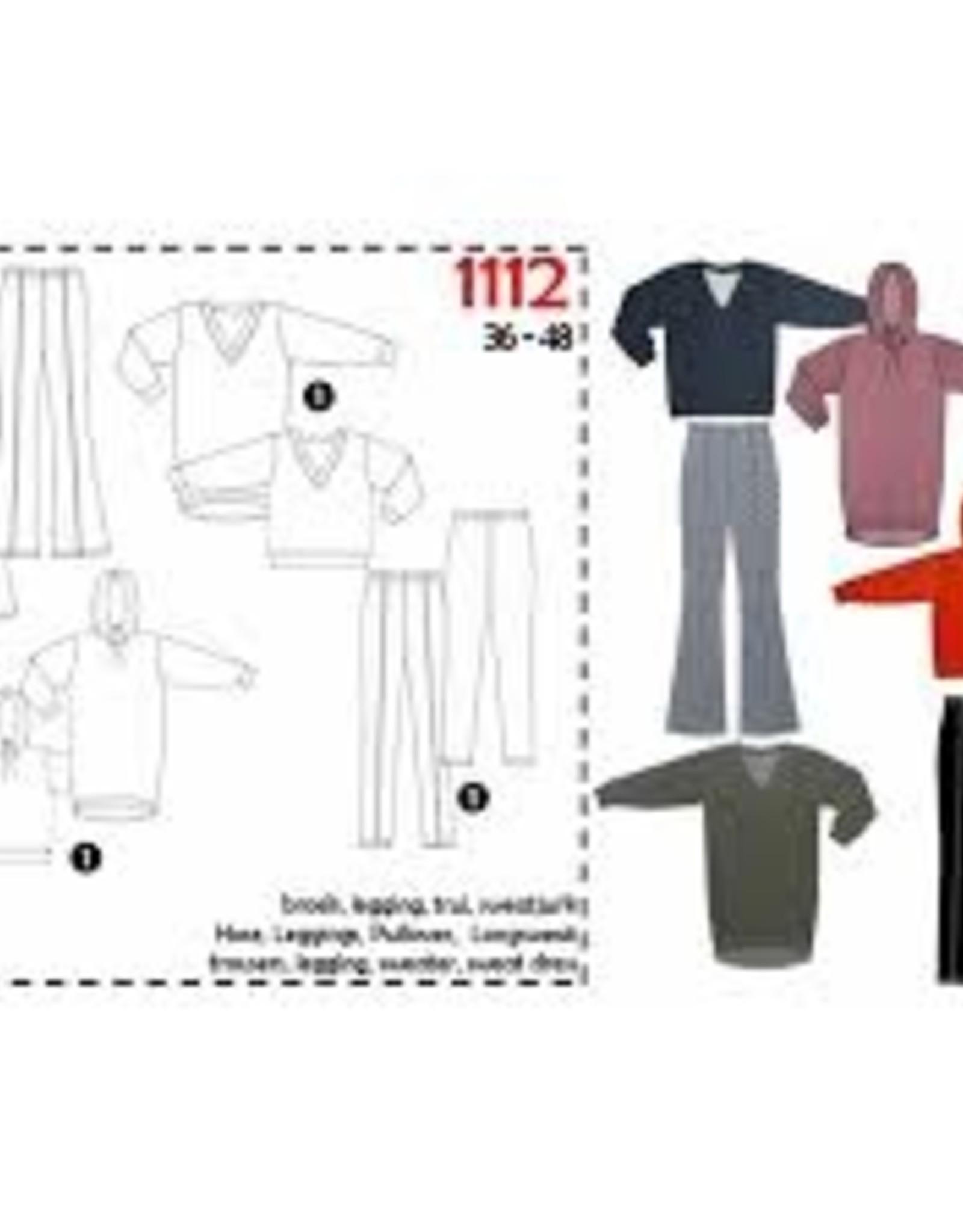 It's A fits Broek, legging, trui en sweatjurk 1112 - It's A fits