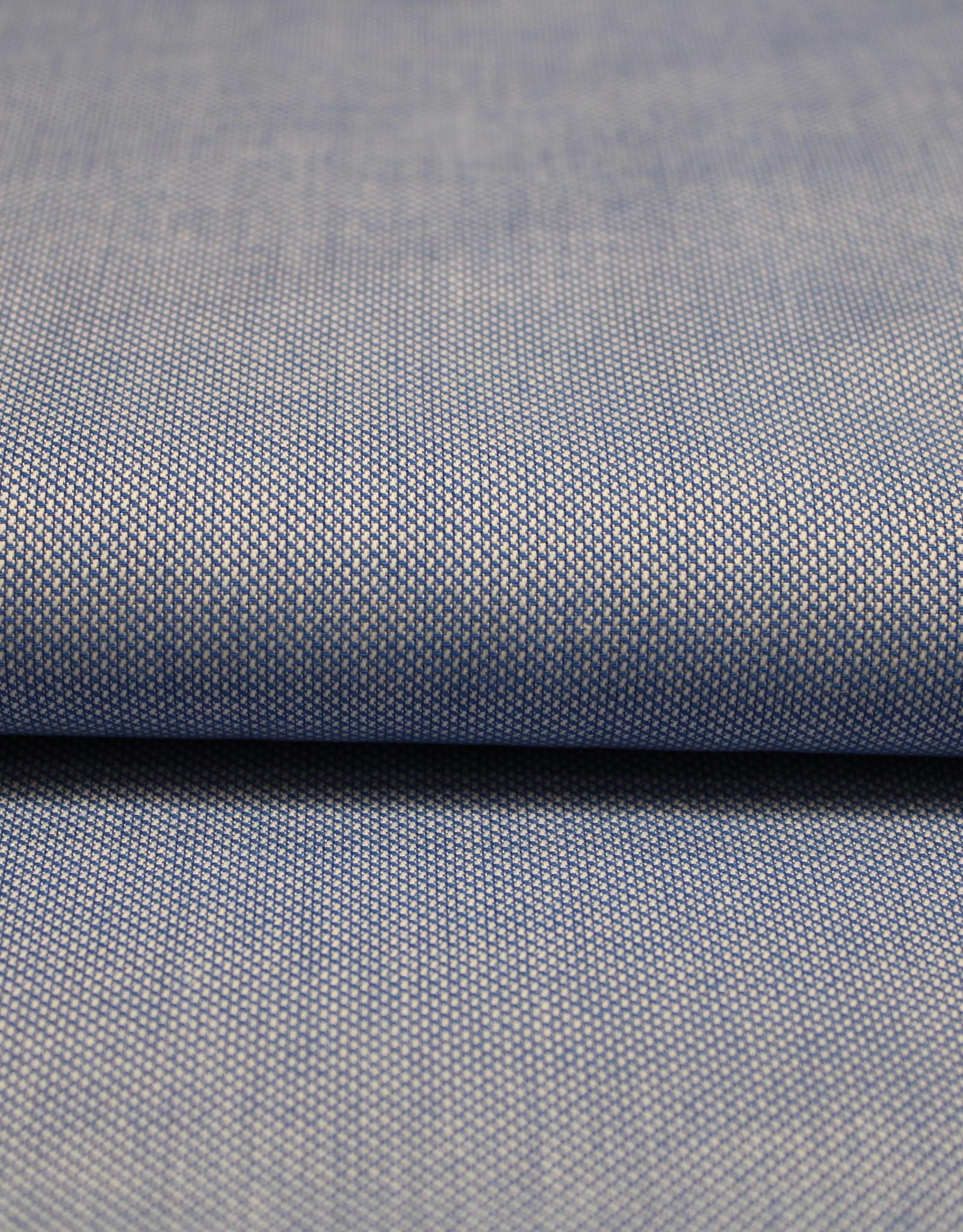 Toptex Oxford katoen blauw