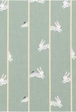 Rico Design Canvas mint Bunny Hop