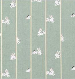 Rico Design Canvas mint Bunny Hop