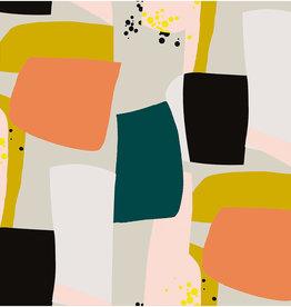 Rico Design Graphical Pattern Big neon