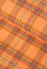 Hilco Aino check oranje flanel