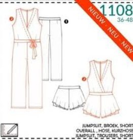 It's A fits Jumpsuit, broek 1108 - It's A fits