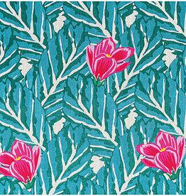 Rico Design Muslin magnolia gold hotfoil