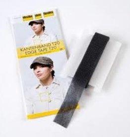 vlieseline kantenband T20 zwart