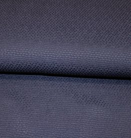 A La Ville Haute Couture COUPON grof piquékatoen marine 50x130cm