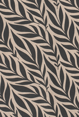 Nooteboom Deco canvas linnenlook plants dark green