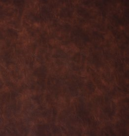 Vintage imitatieleder brown 50cm x 134cm