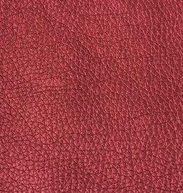 Imitatieleder rood glanzend 50cm x 140cm