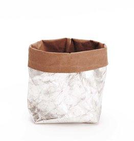 Rico Design Wasbaar papier zilver 48cm x 100 cm
