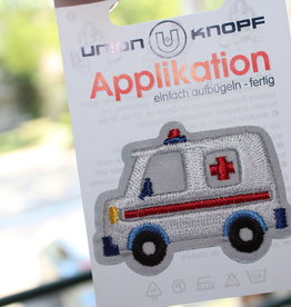 Union Knopf applicatie ziekenwagen
