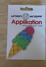 Union Knopf applicatie large ijsje