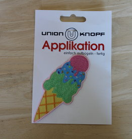 Union Knopf applicatie large ijsje