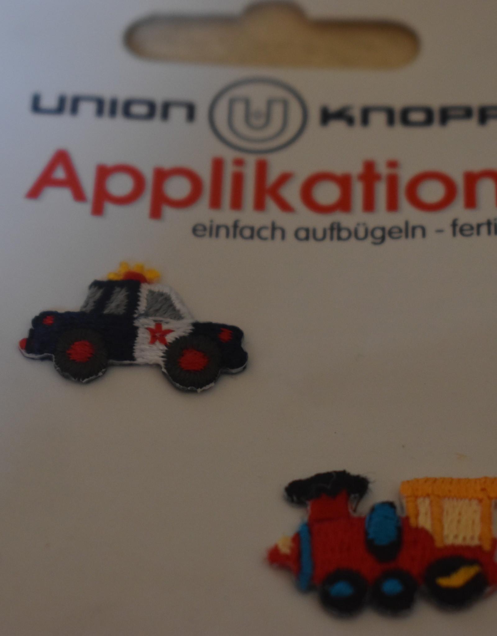 Union Knopf applicatie x-small politie/trein