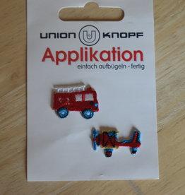 Union Knopf applicatie x-small brandweer/vliegtuig