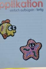 Union Knopf applicatie x-small vis/zeester