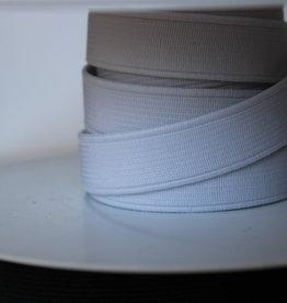 Standaard elastiek 2cm wit
