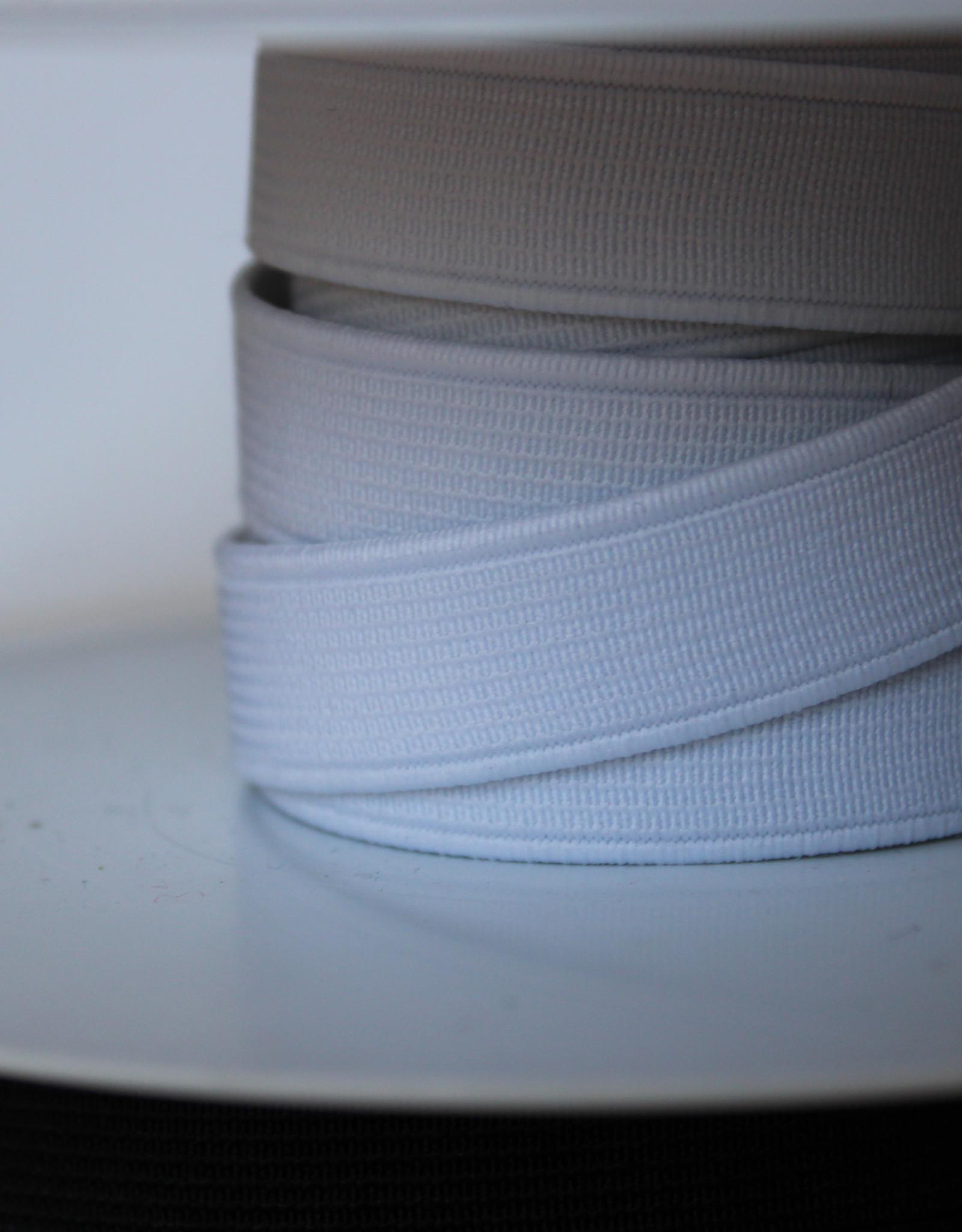Standaard elastiek 3,5cm wit