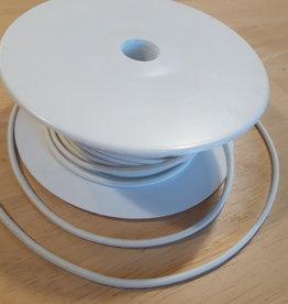 Ronde elastiek 3mm wit