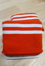 Poppy designed for you Cuff rood met 2 witte strepen - Poppy