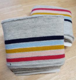 Poppy designed for you Cuff lichtgrijs/navy/lichtblauw/oker/roze/fuchsia - Poppy