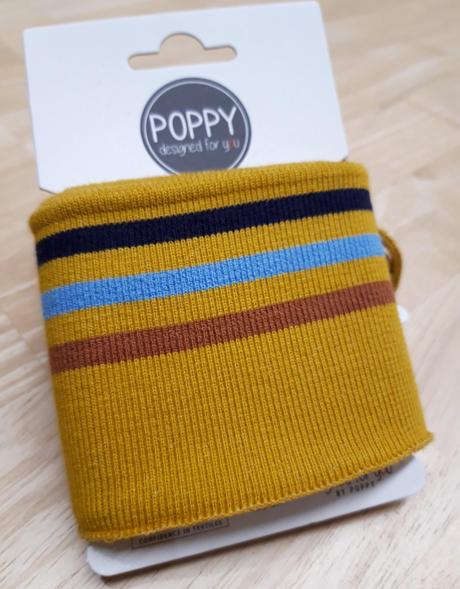 Poppy designed for you Cuff Oker/roest/blauw/navy - Poppy