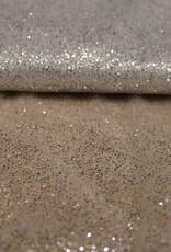 A La Ville Haute Couture zilver glitter tule