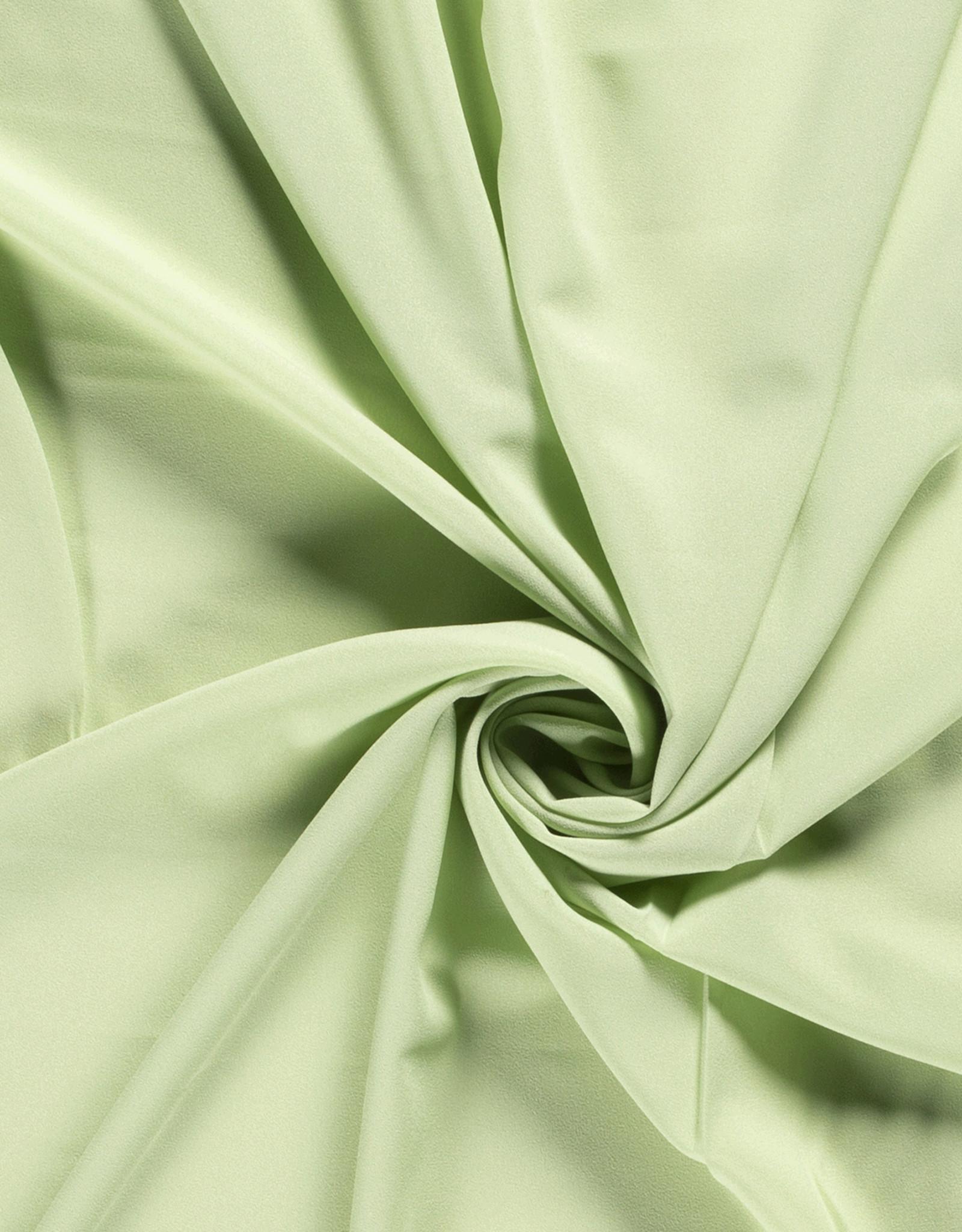 Nooteboom Crepe georgette lichtgroen