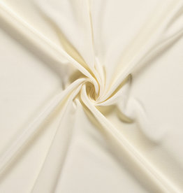 Nooteboom coupon 80x140cm Moss crepe gebroken wit