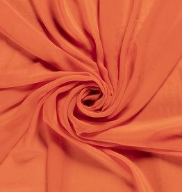 Nooteboom COUPON crepe georgette fel oranje (180cm x 145cm)