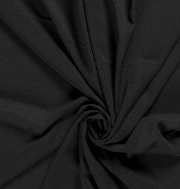 Nooteboom Crepe georgette zwart black