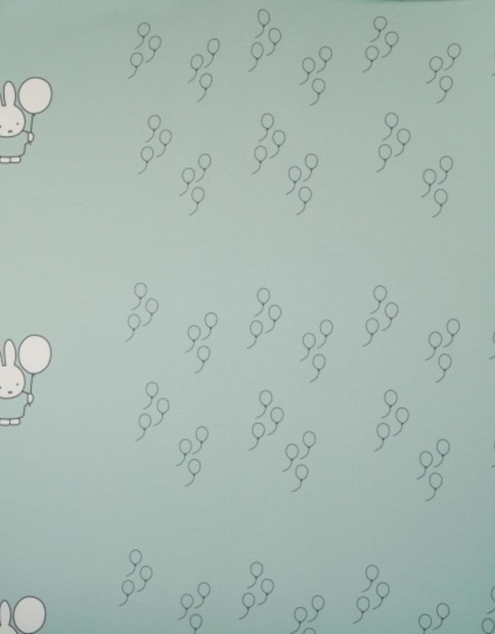 Dick Bruna Paneel jogging Nijntje Miffy Balloons lichtblauw - Dick Bruna