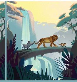 swafing Paneel Lion King - Leeuwenkoning
