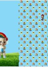 Stenzo Digitaal paneel Retro Bear en Rainbow XXL
